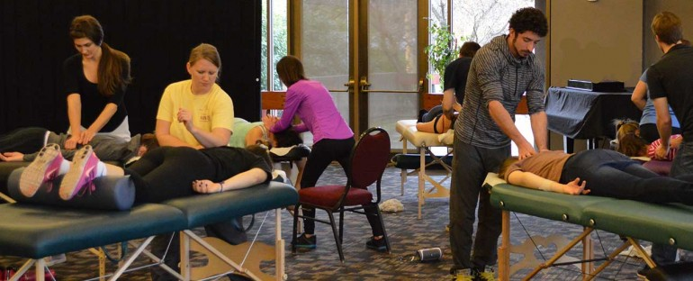 AIM Students at SOU's 'Relaxation Extravaganza!'