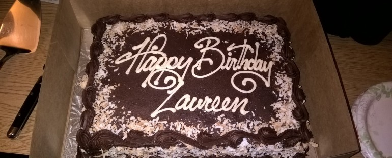 Happy Birthday Laureen!