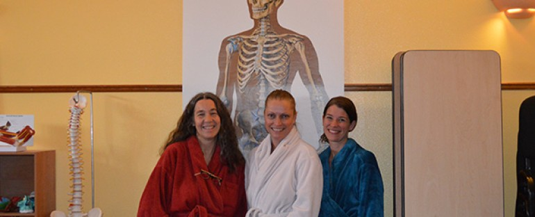 Swedish Massage Practical Midterm Exams at Ashland Institute of Massage