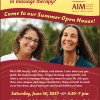 Join Us For Our Summer Open House!